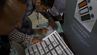 In Indien haben am heutigen Donnerstag die Parlamentswahlen begonnen.