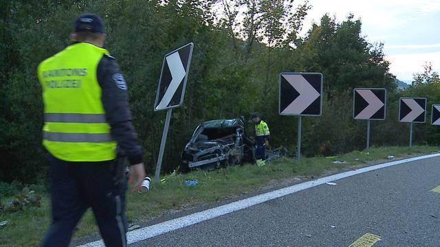 Selbstunfall in Densbüren: Fahrer schwer verletzt
