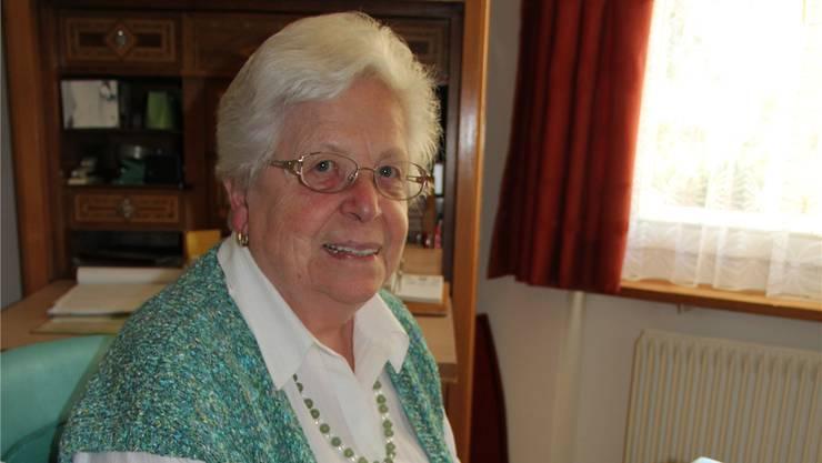 Für die 82-jährige Gertrud Lüdi aus Bettlach ist das Schreiben ein Geschenk