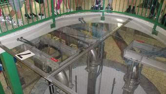 Im Werk Zelgli in Kappel: Jede Pumpe liefert bei voller Leistung rund 4000 Liter pro Minute.