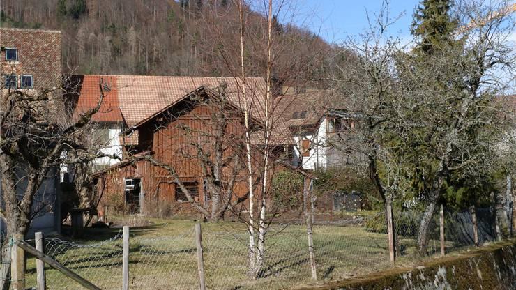 Seltene Lebensqualität: Die Hofstätten auf der Hinterseite der Häuser an der Hauptstrasse werden zunehmend überbaut.