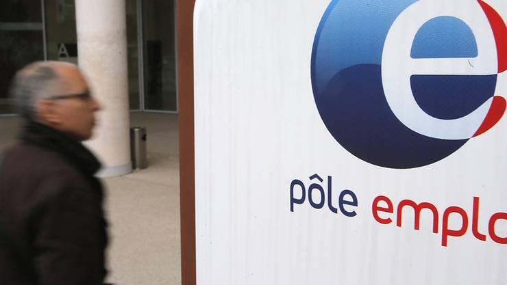 Die Arbeitslosenquote in der Eurozone ist auf 7,5 Prozent zurückgegangen. Im Bild ein Jobcenter in Frankreich. (Archivbild)