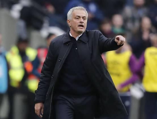 José Mourinho begann seine Zeit bei Tottenham mit einem Sieg