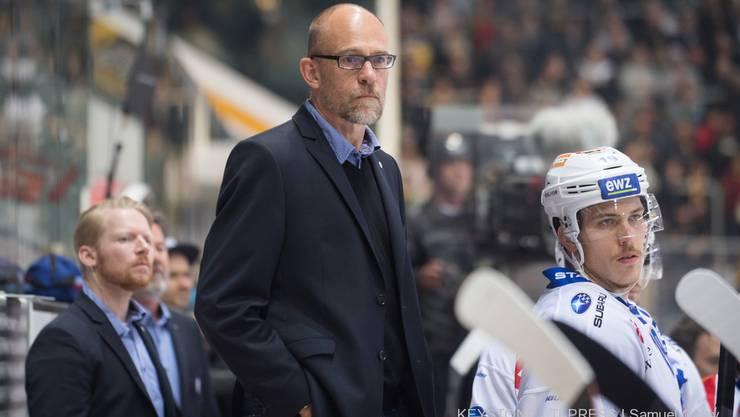 Hans Kossmann könnte die ZSC Lions heute Samstag als Trainer zum Meister machen.
