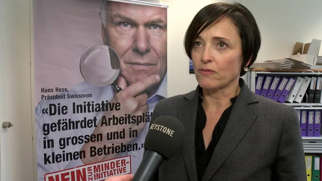 Für die Kampagnenleiterin von Economiesuisse, Ursula Fraefel, waren andere Mächte im Spiel um Daniel Vasella dazu zu bringen auf seine 72 Millionen zu verzichten