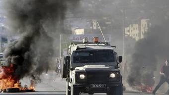 Palästinenser wehren sich gegen israelischen Einmarsch