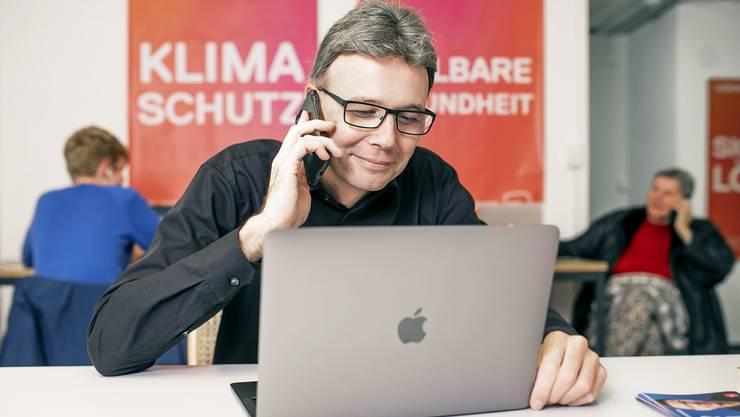 Dieter Egli (SP, aus Windisch) kandidert für den freien Sitz im Regierungsrat.