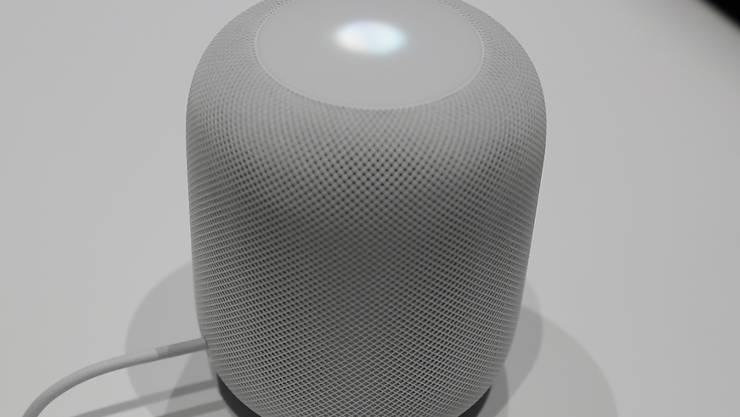 Verzögerung bei Apple: Der Lautsprecher HomePod soll nun erst Anfang 2018 kommen. (Archiv)