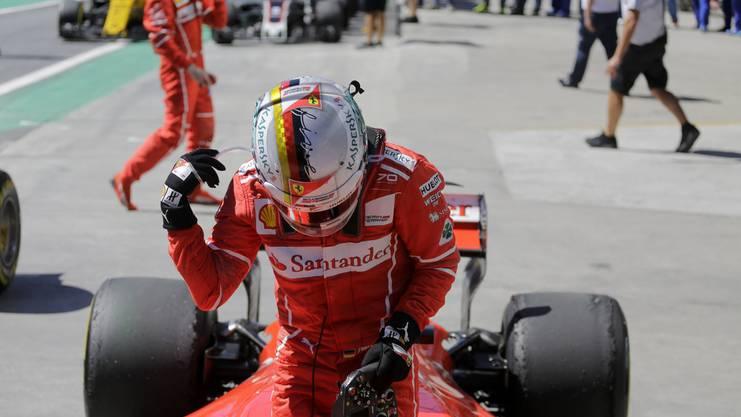 In diesem Jahr gewann Vettel den GP von Brasilien