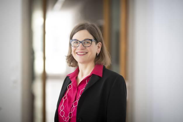 Franziska Graf-Bruppacher, Stadträtin von Aarau und SP-Regierungsratskandidatin.