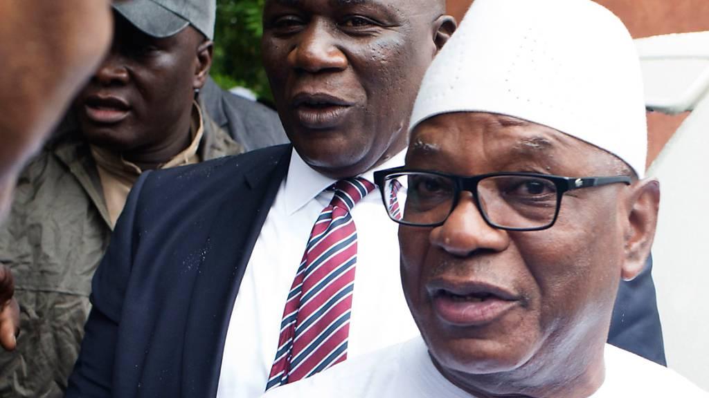 Aufständischen Militärs: Präsident Keïta freigelassen
