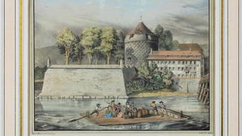 Statt «Chargé pour Soleure» wie früher, gehts jetzt mit dem Weinschiff nach Vevey.