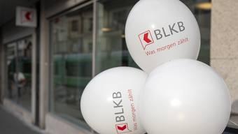 Der «Spickel» im roten Quadrat muss wieder weg – auch bei der neuen Filiale der BLKB am Barfüsserplatz.
