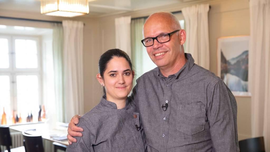SwissDinner-Spezial mit Christian (54) und Nadja (32) Leschhorn