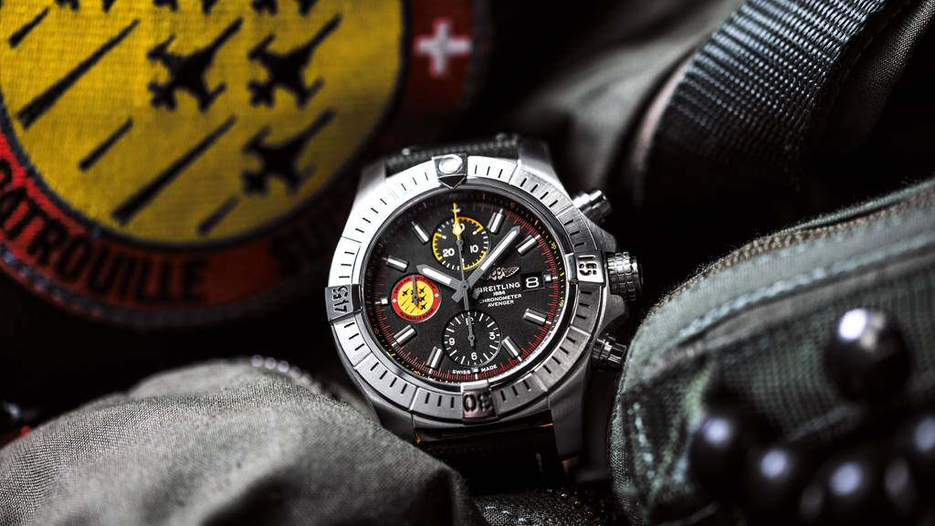 Uhrenhersteller Breitling ausgezeichnet