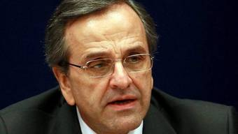 Unerbittlich: Der griechische Premier Antonis Samaras (Archiv)