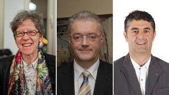 Einwohnerrätin Marie Louise Reinert wählt Yvonne Feri – Gemeinderat Roland Kuster Maya Bally – Einwonerrat Toni Ventre«sicher eine bürgerliche Kandidatin»