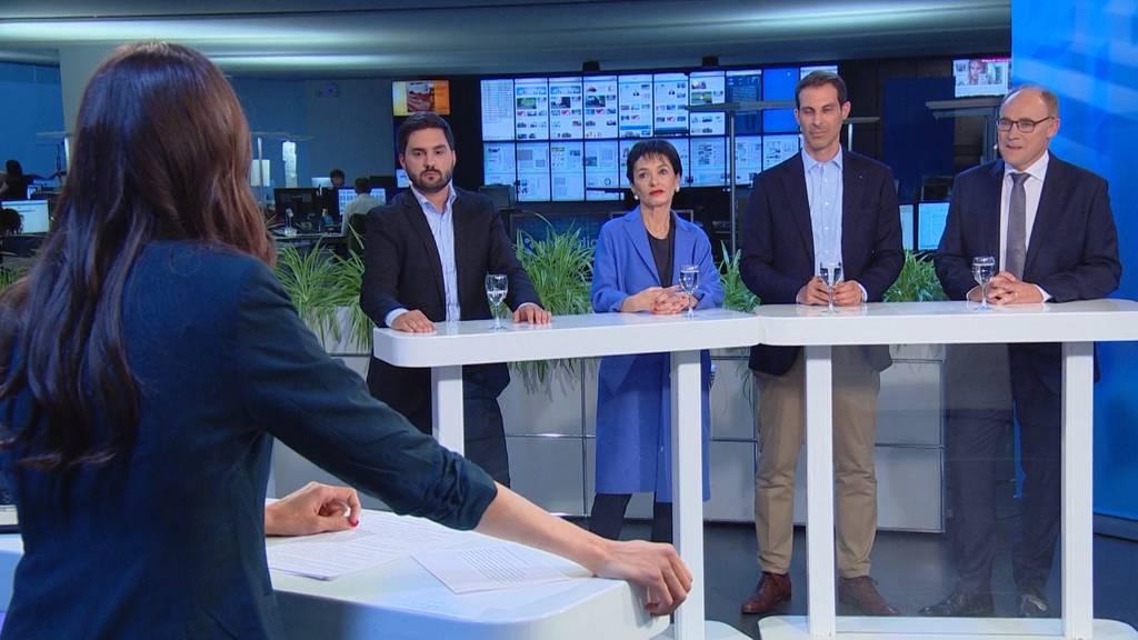 Ständeratswahlen AG: Grosse Parteien