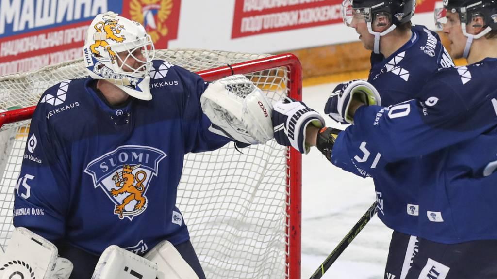 Titelhalter Finnland startet mit einem 2:1-Erfolg über die USA in die Eishockey-WM