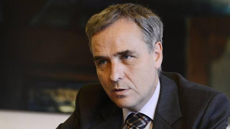 Regierungspräsident Guy Morin: «Politik berührt mich.»