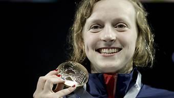 Katie Ledecky sicherte sich erstmals WM-Gold