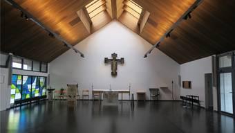 Die katholische Kirche Kölliken nach derSanierung. Flurina Dünki