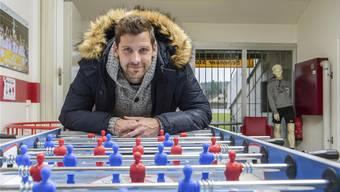 Stéphane Besle hat endlich eine Methode gefunden, damit er wieder beschwerdefrei ans Fussballspielen denken kann.Andy Müller/freshfocus