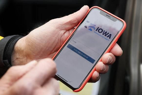 Die App des Anstosses, die für das Chaos in Iowa verantwortlich ist.
