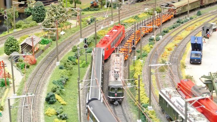 Beim Fricktaler Eisenbahnclub steht die Eisenbahn nicht auf dem Abstellgleis.