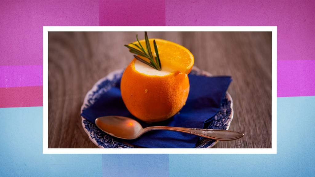 Orangen-Crème