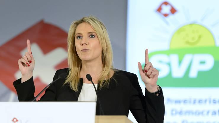 Céline Amaudruz.