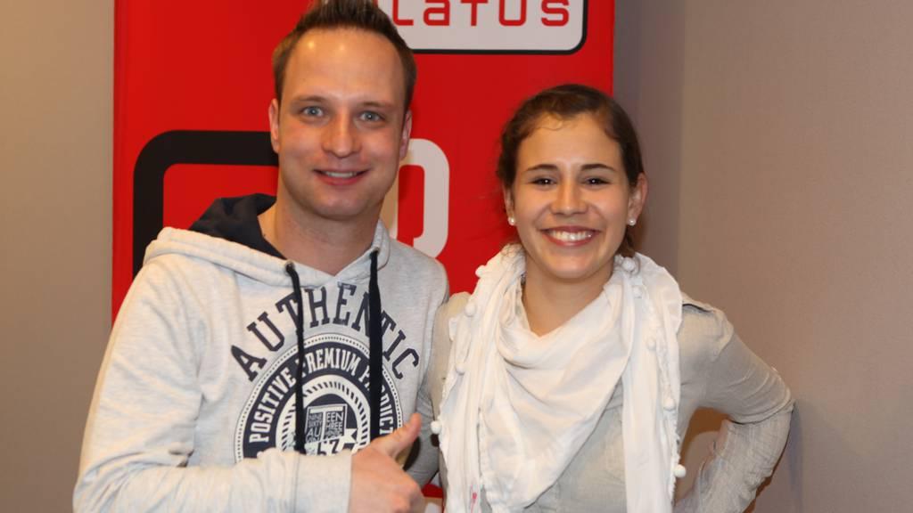 DGST Eliane Müller in der Radio Pilatus Morgenshow