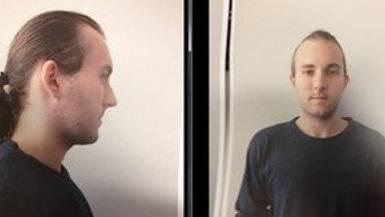 Mit diesem Fahndungsbild wurde der 22-Jährige tagelang polizeilich gesucht.