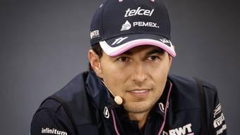 Sergio Perez ist nicht mehr in Quarantäne