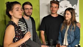 Sie sind «Das Mass aller Dinge» (v. l.): Nina Spiegel, Frederik Vestergaard, Lukas Rhiner und Dominique Trautweiler.