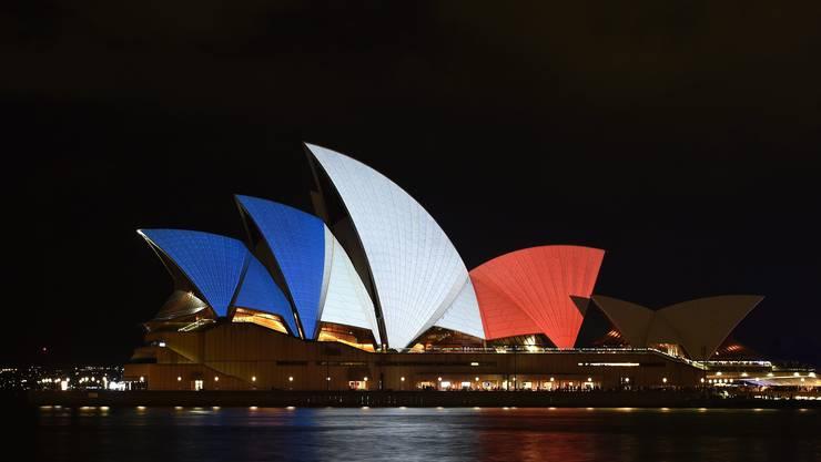 Das Opernhaus von Sydney in Australien