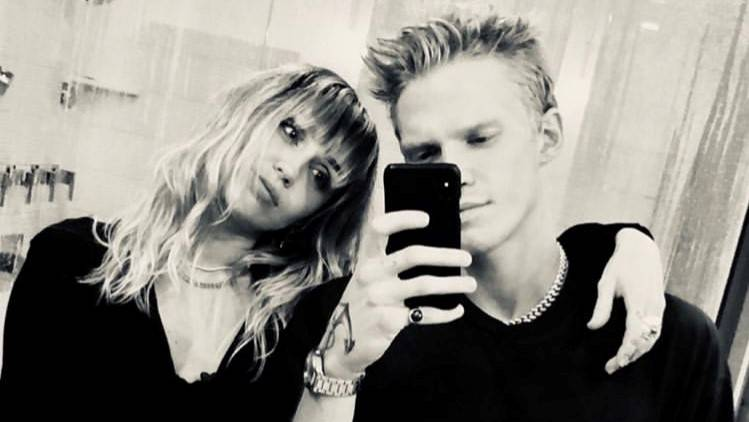 Miley Cyrus und Cody Simpson