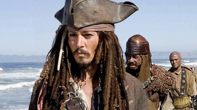 Johnny Depp als Pirat Jack Sparrow (Archiv)