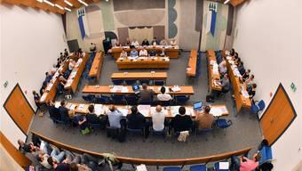 Das Oltner Gemeindeparlament ist trotz der Verkleinerung auf 40 Mitglieder nicht effizienter geworden. Bild: Bruno Kissling (24. August 2017)