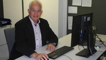 Christian Fricker, Präsident von Fricktal Regio, ist gut auf das bevorstehende Gemeindeseminar vorbereitet.