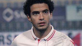 Noch präsentiert sich Omar Gaber auf seinem Facebook-Account im Trikot des Zamalek SC.