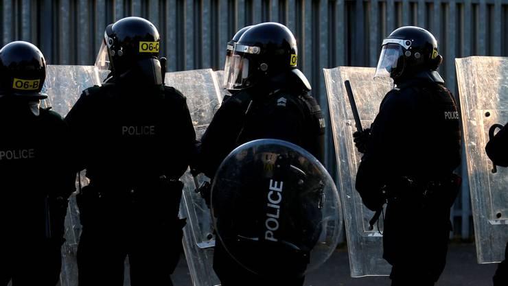 Grossaufgebot an Polizisten unter höchster Wachsamkeit