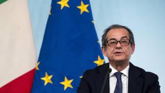 Italiens Wirtschaftsminister Giovanni Tria will alles in seiner Macht stehende tun, um das Vertrauen der Finanzmärkte wiederherzustellen. (Archiv)