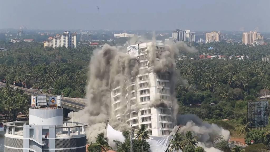 Illegale Hochhäuser: 343 Luxus-Wohnungen gesprengt