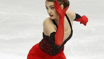 Alexia Paganini musste an den Weltmeisterschaften in Saitama hartes Brot essen