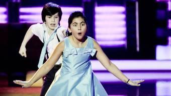 Zwei Tanzmäuse: Jan (13) und Yannyna (11)