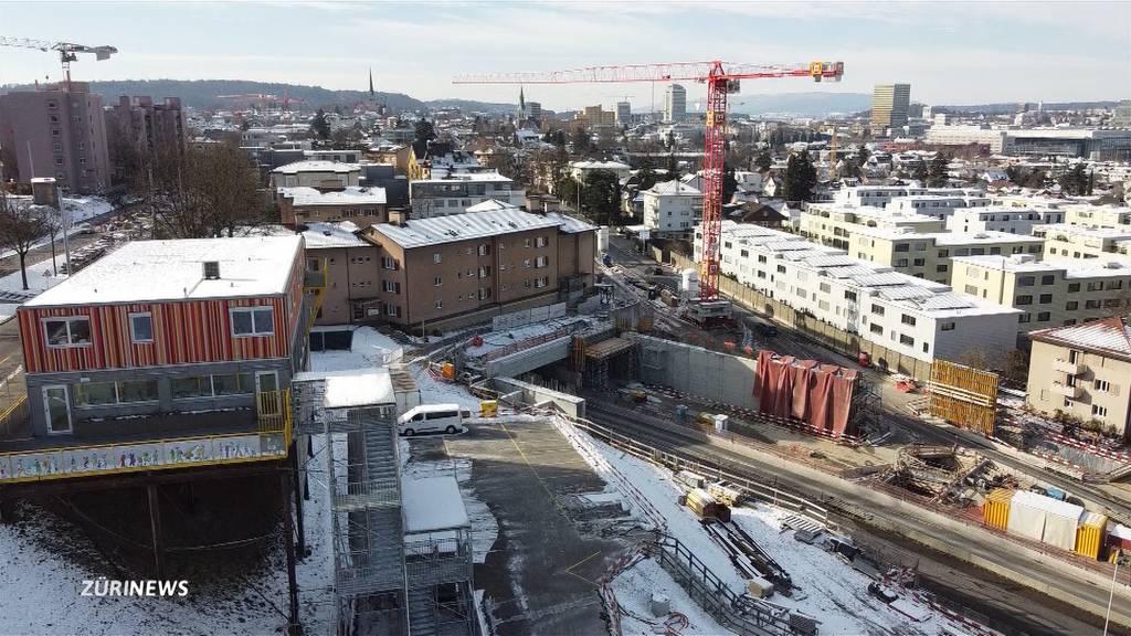 Baustelle und Verkehr: Wohnung direkt über dem Schöneichtunnel