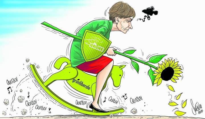 Die Karikatur zur Bundesratswahl.