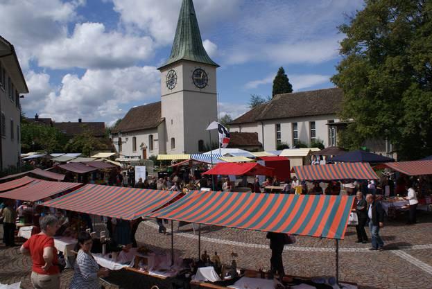 Im Bild: Herbstmarkt von Schlieren
