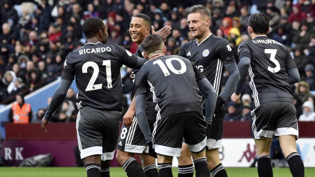 Leicester City etabliert sich als Nummer 2